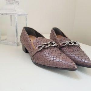 Maison Margiela NEW snake leather loafer